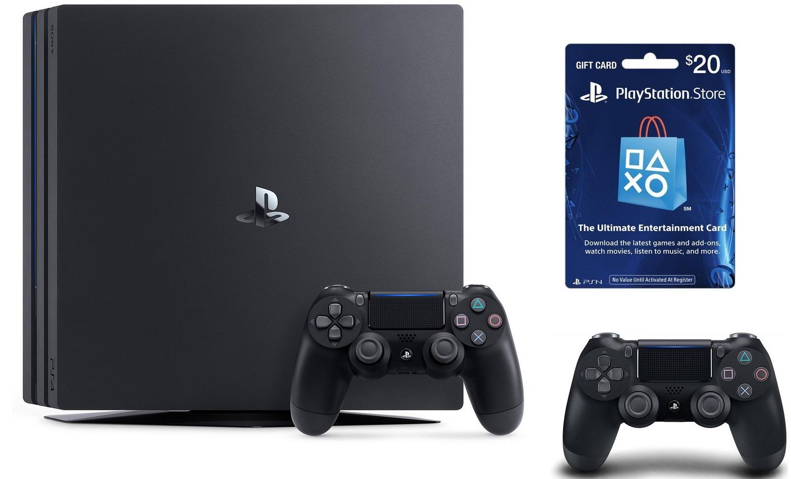 playstation 4 pro bundle deals