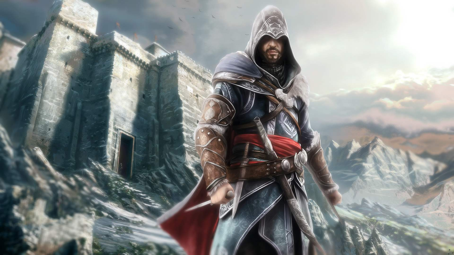 Old man Ezio's makeover did wonders for him
