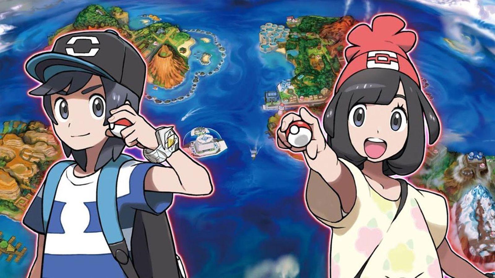 Bildresultat för pokémon moon