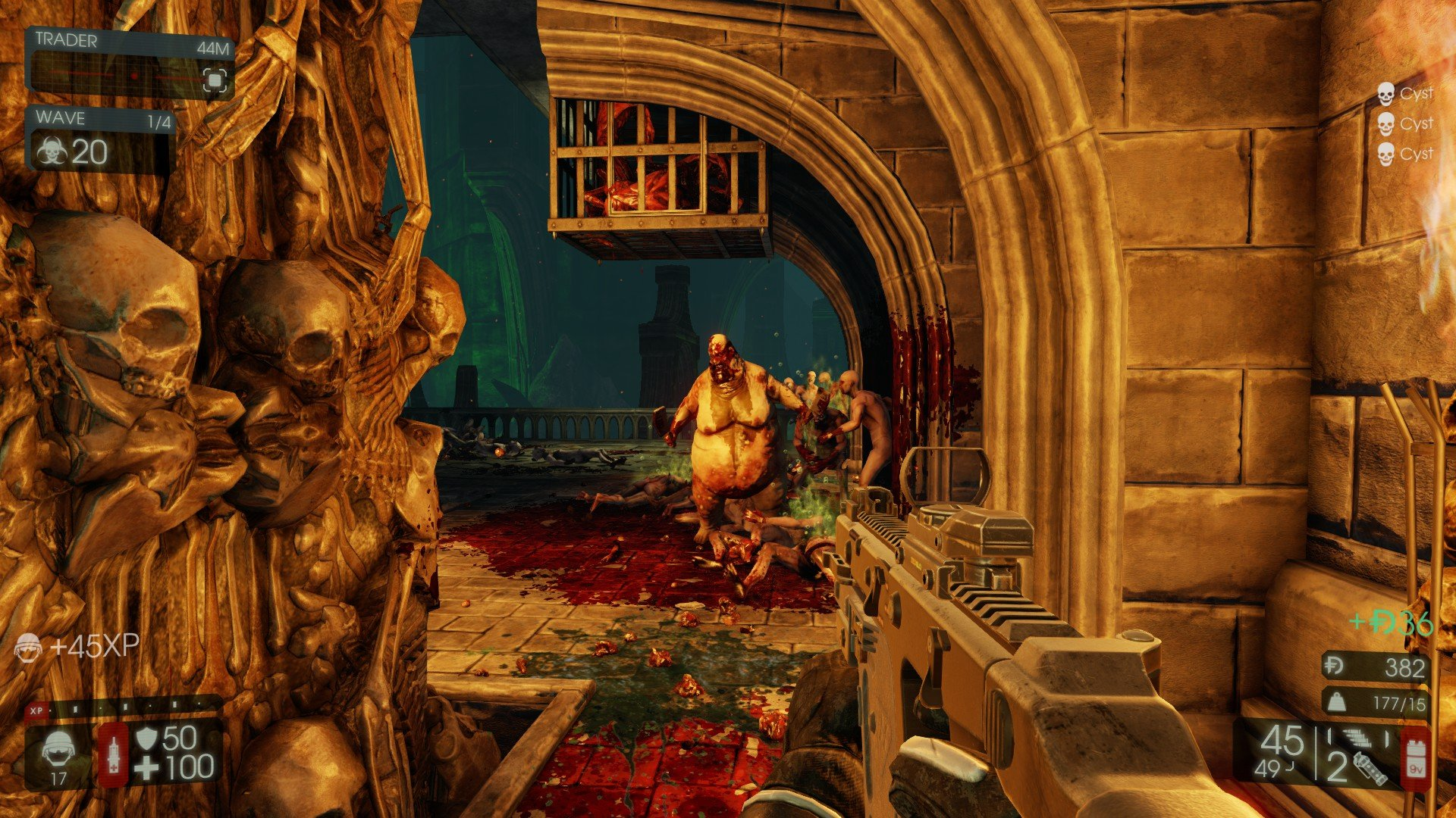 At Launch, Killing Floor 2 Has Twelve Different Maps Ranging From The  Streets Of Paris (with The Eiffel Tower Burning In The Background) To The  Catacombs ...