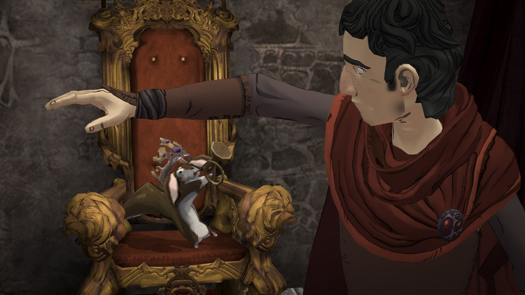 King's Quest received a bonus epilogue episode yesterday