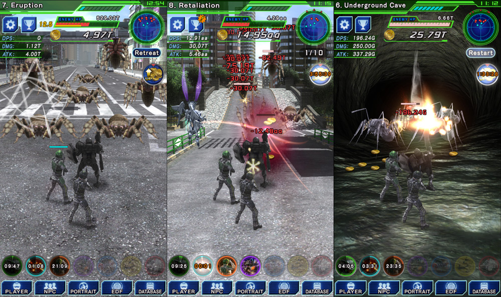 Image result for TapWars: EARTH DEFENSE FORCE