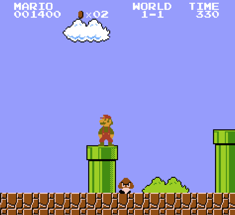 Old fashioned super mario bros 68