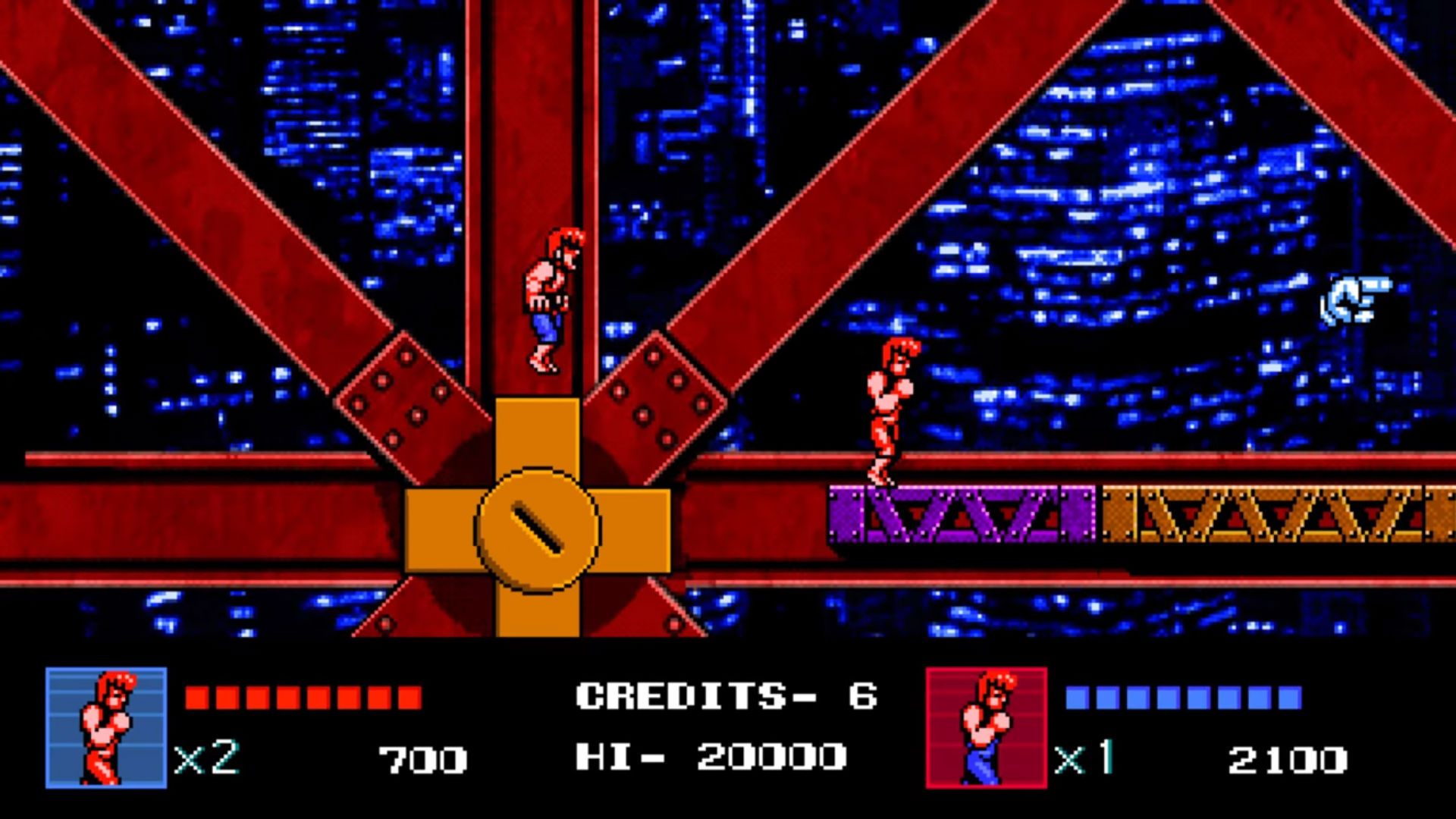 Review Double Dragon Iv