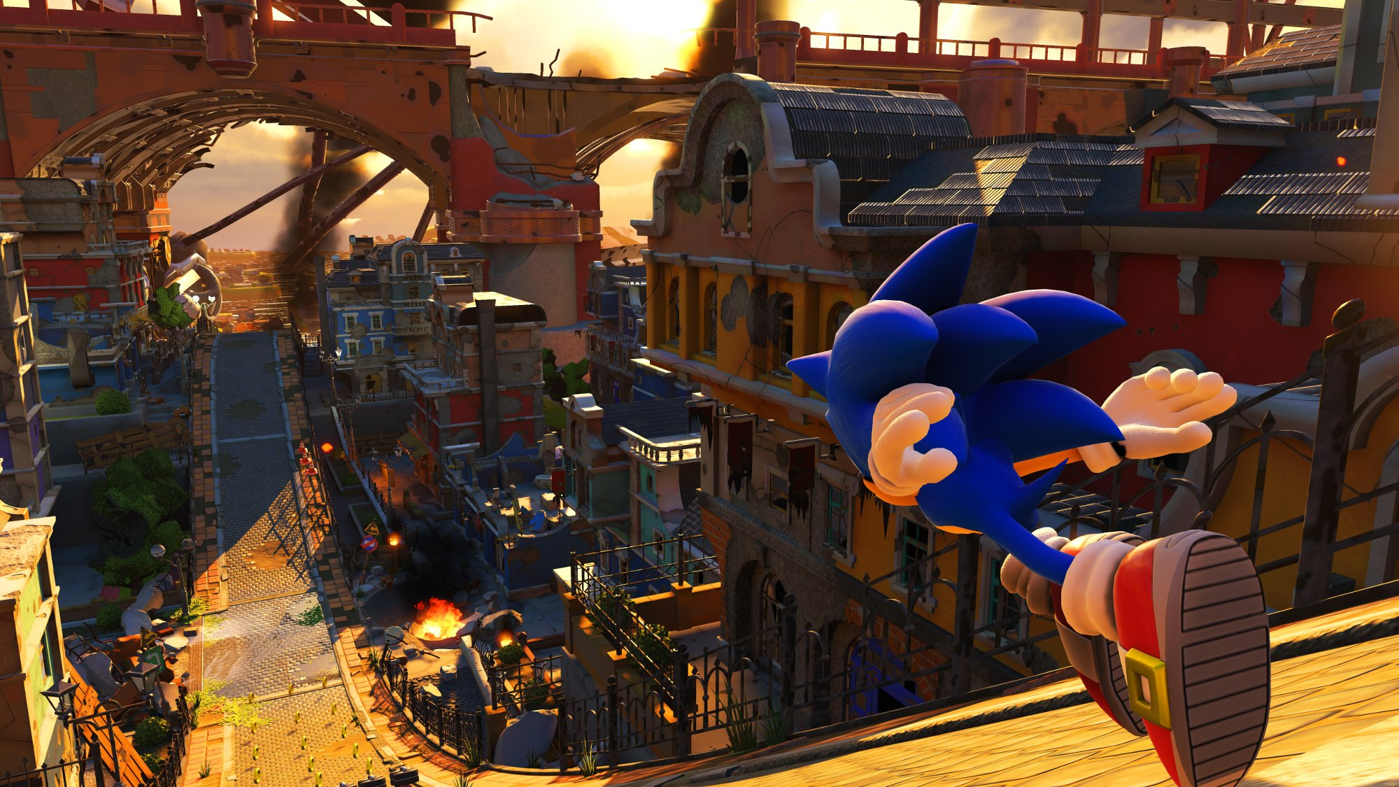 Modern Sonic will, unsurprisingly, go fast in Sonic Forces