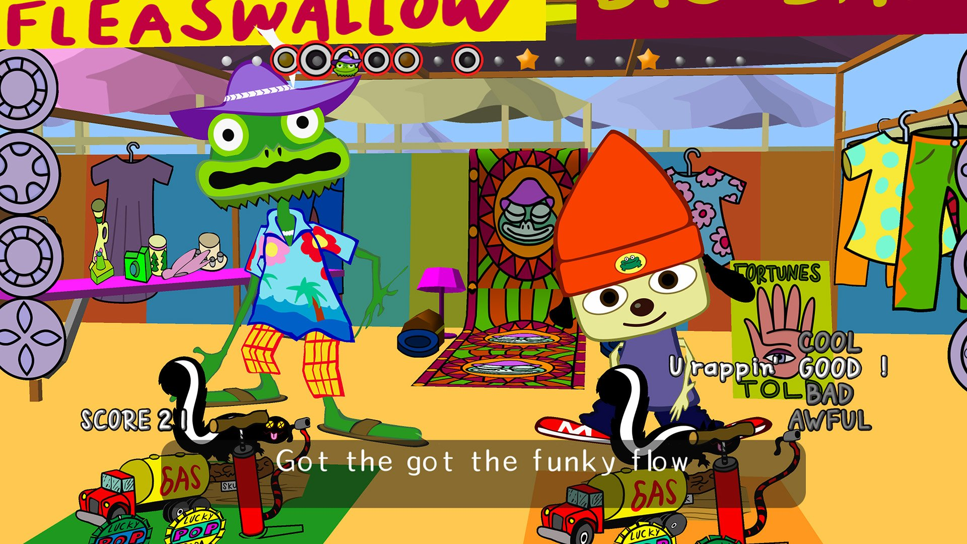 Review: PaRappa the Rapper Remastered