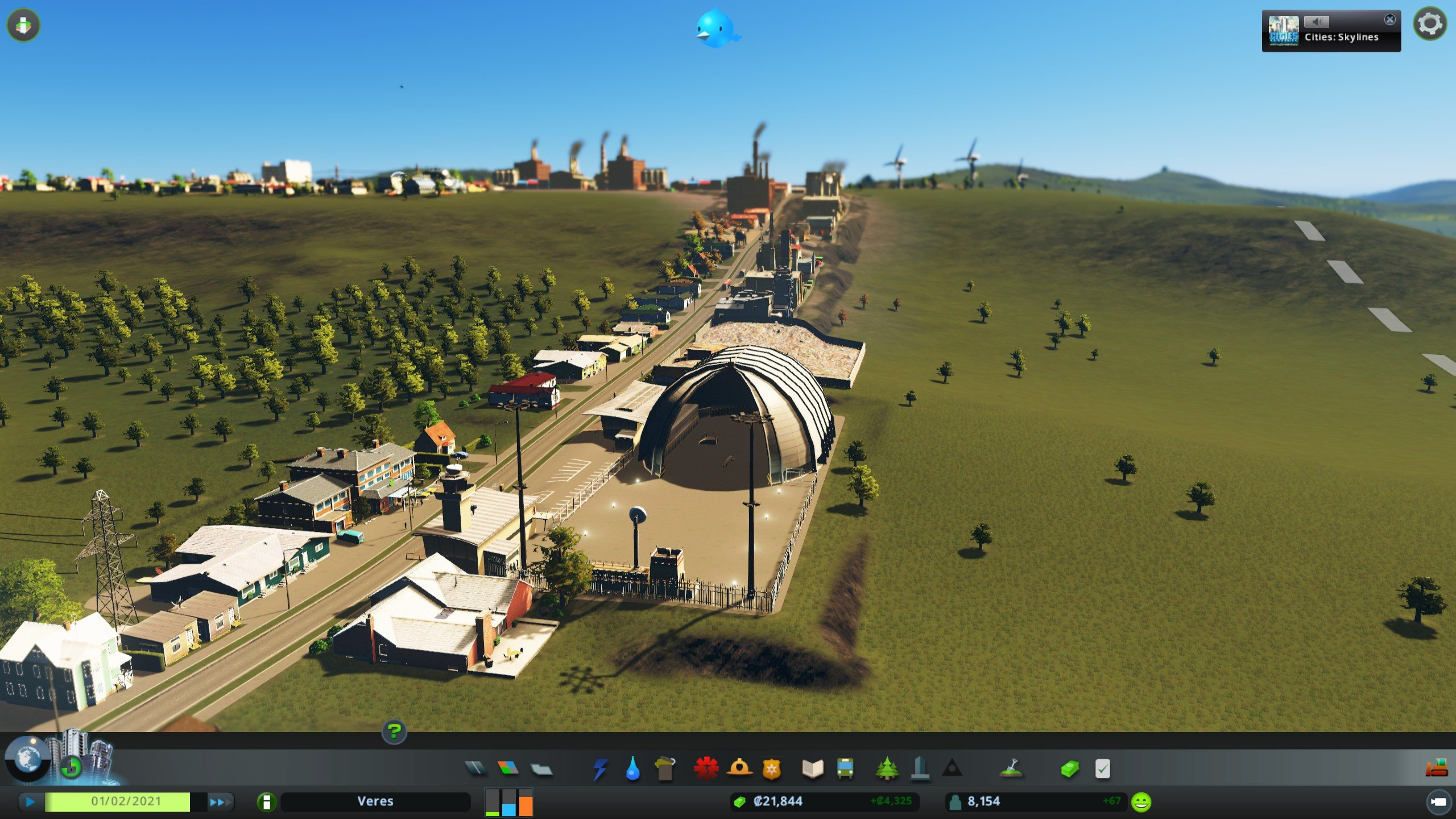 Mass Transit makes Cities: Skylines even more beautiful