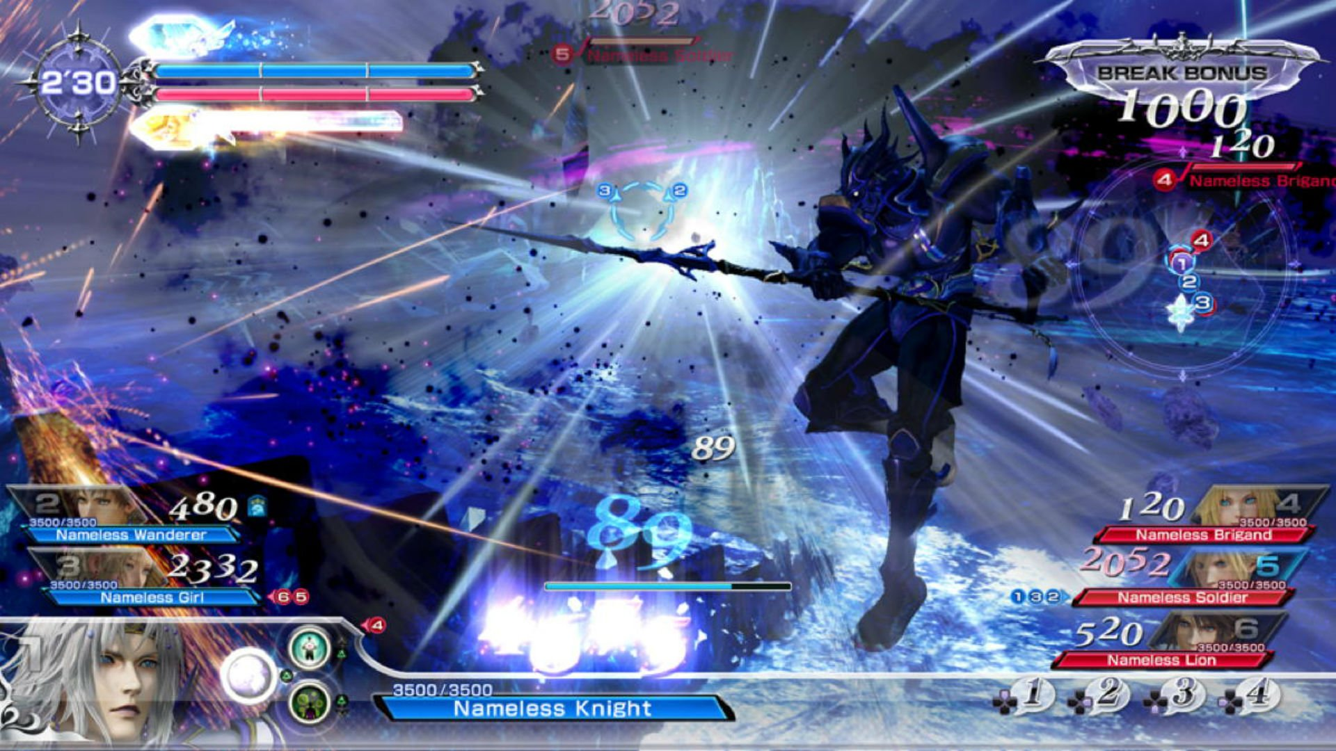 Dissidia Final Fantasy Nt S 3 On 3 Battles Are A Huge Mess