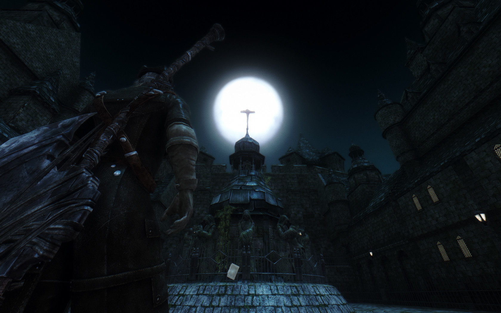 New mod brings yharnam to skyrim for Yharnam architecture