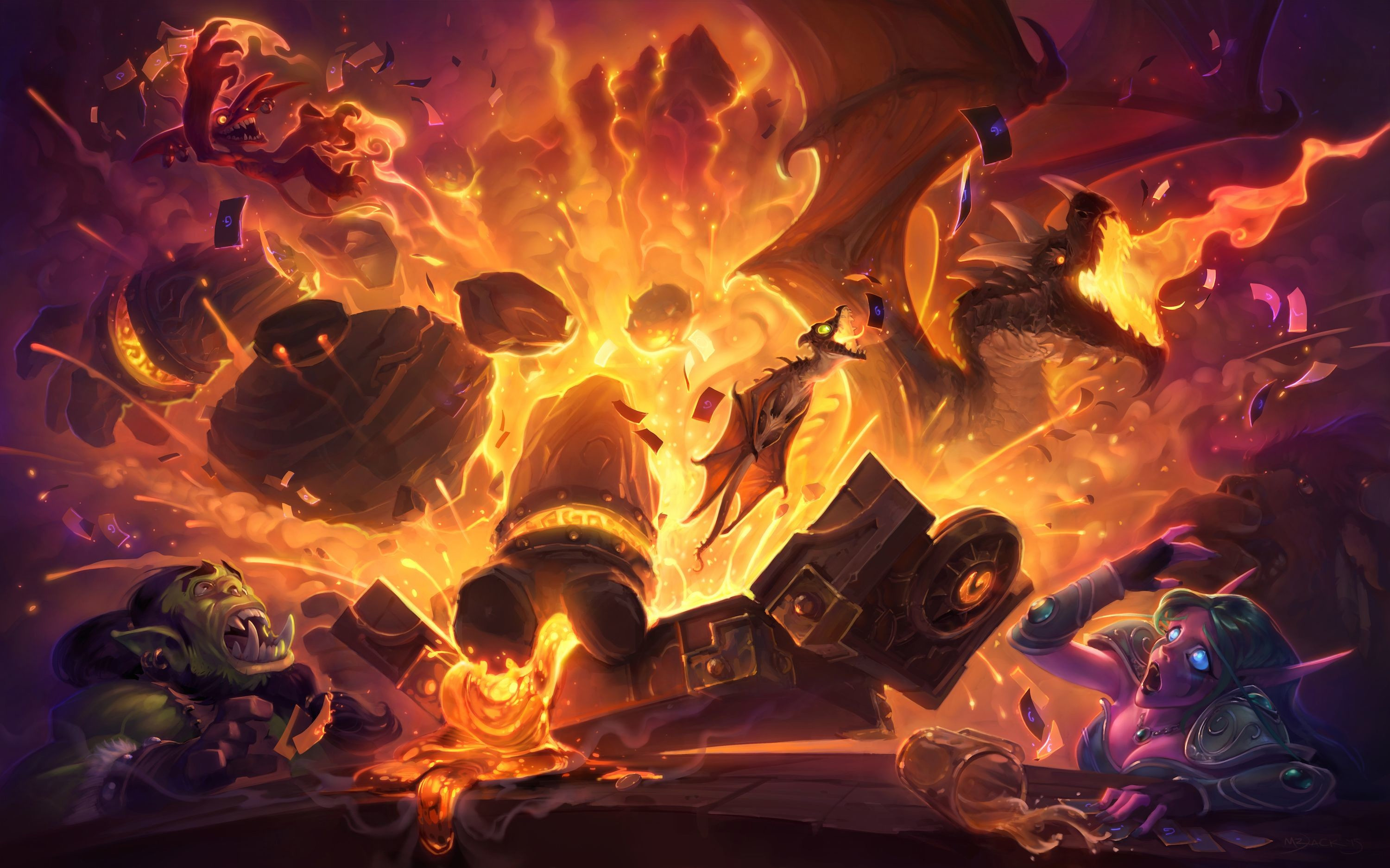 hearthstone how to tell which cards are wild