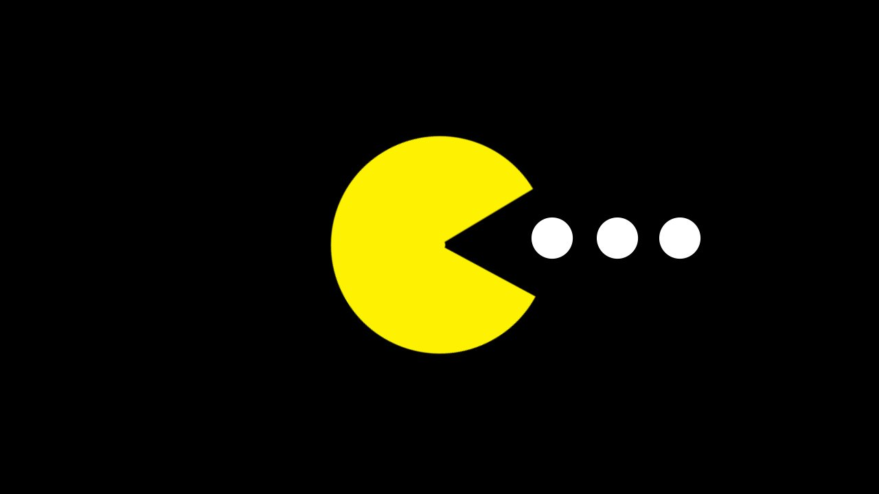 It's just a graphic of Agile Pac Man Pictures