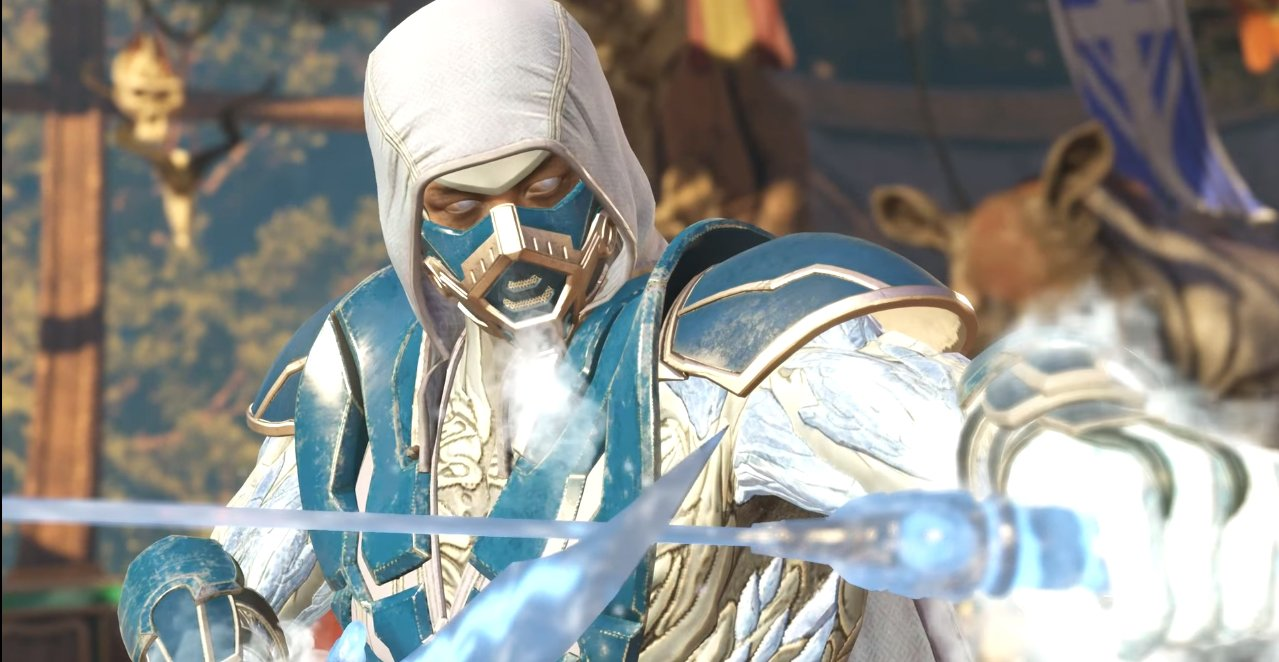 Warming Up To Sub Zero In Injustice 2