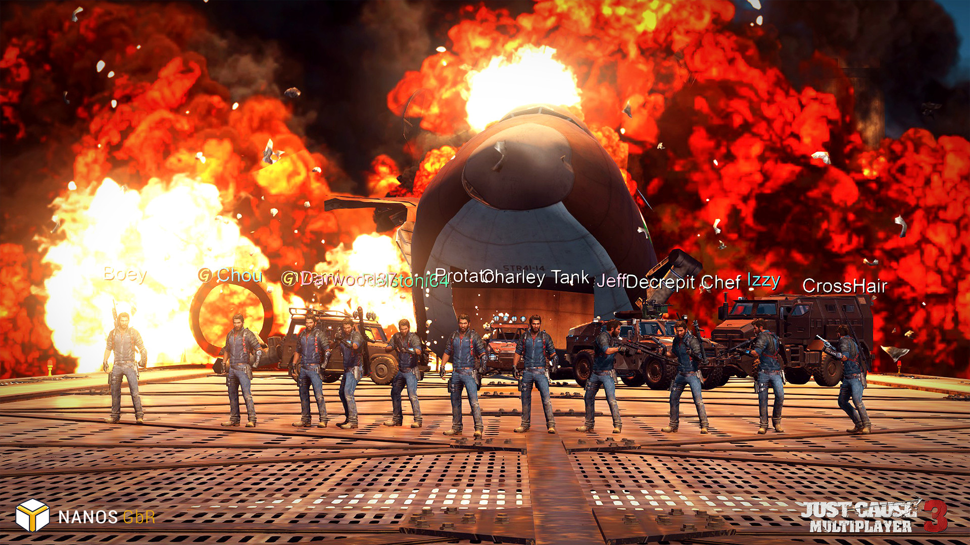 Disponible el Mod Multijugador de Just Cause 3 para PC