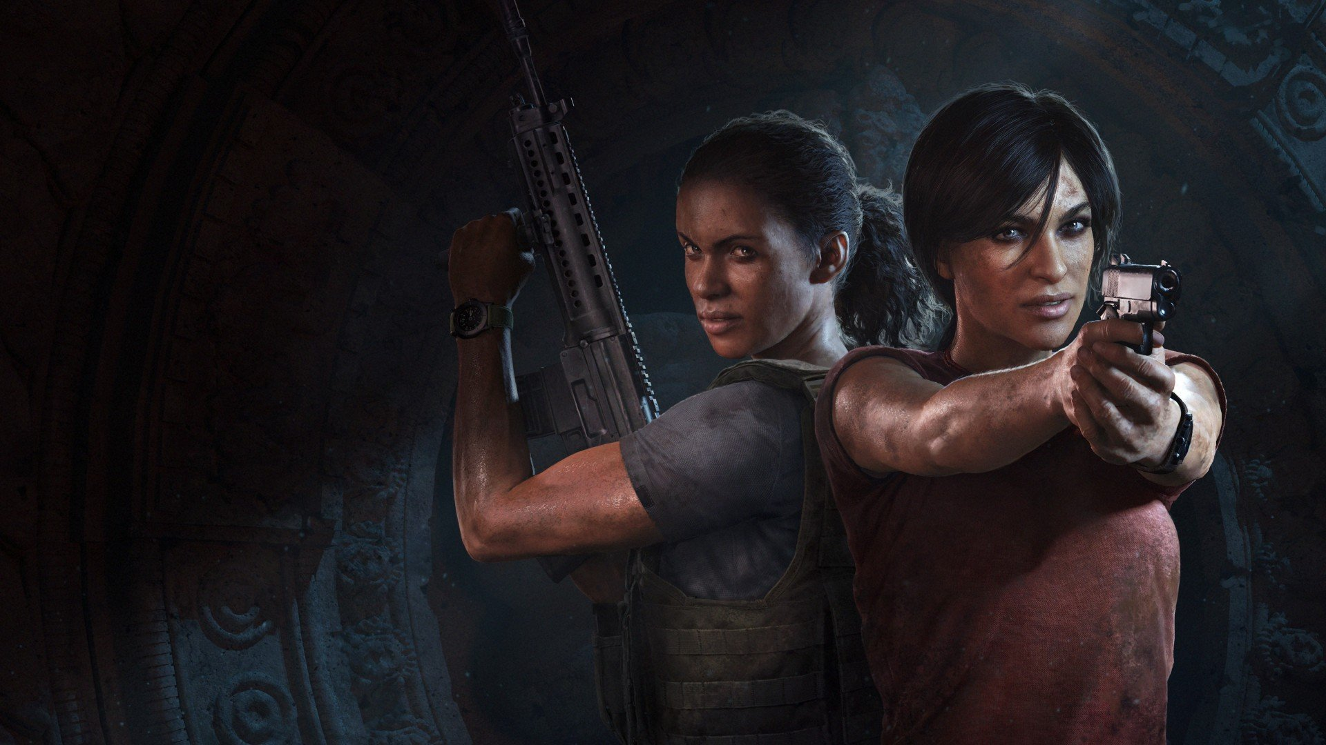 Cloe and Nadine - Uncharted: The Lost Legacy