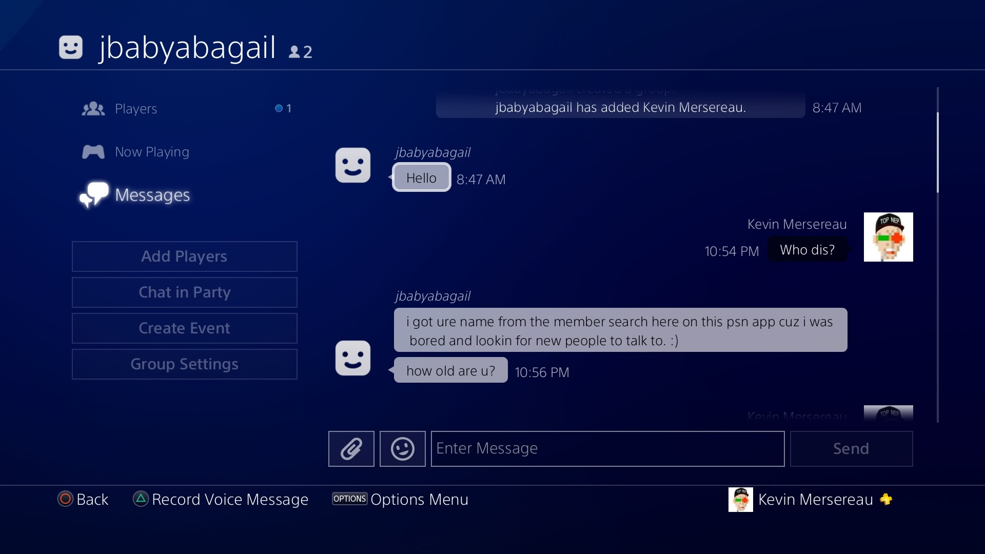 Pornbots are invading PSN