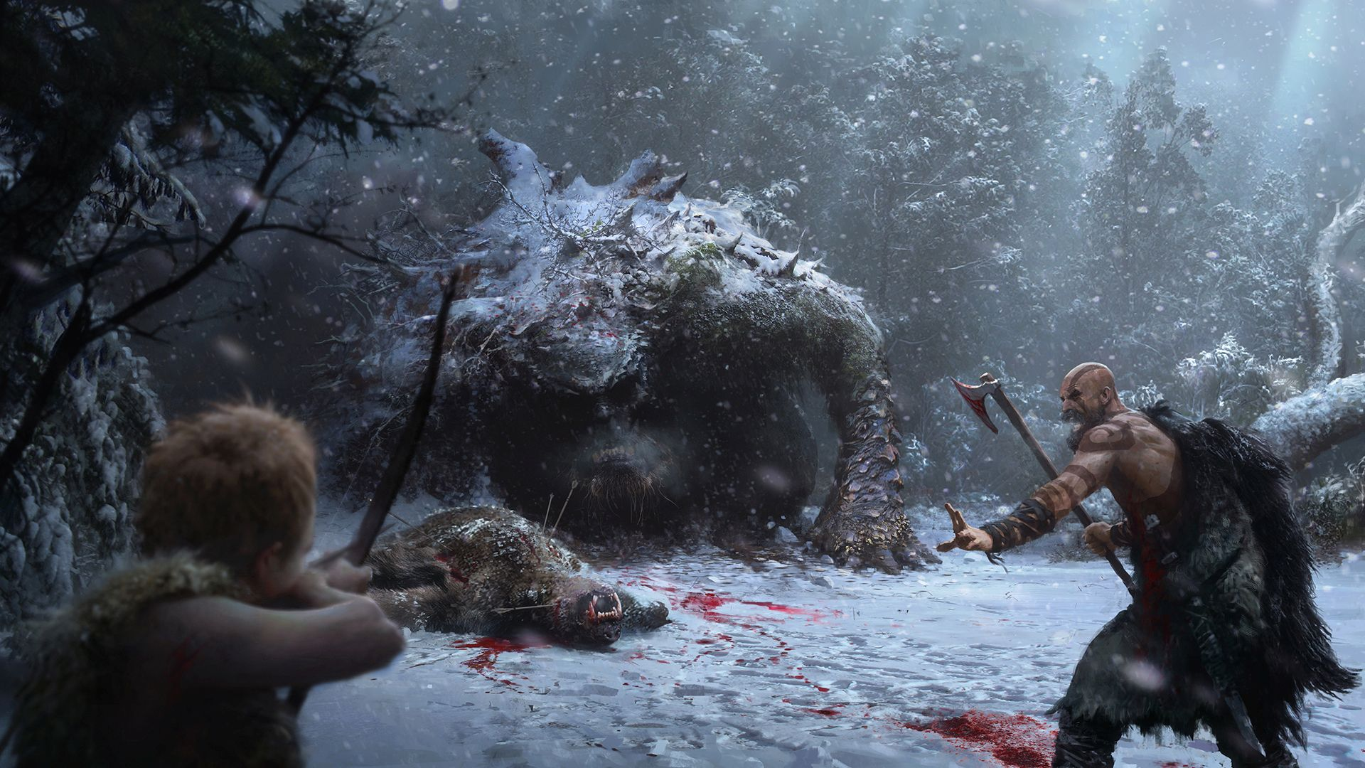 Frostpunk 2018 Game Wallpapers: Oh Yeah, Another God Of War Is On The Way: Here's Some