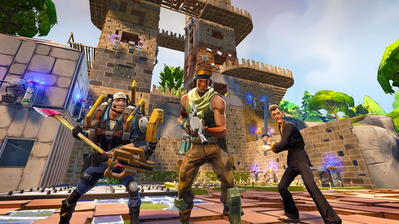 can pc and ps4 play together fortnite