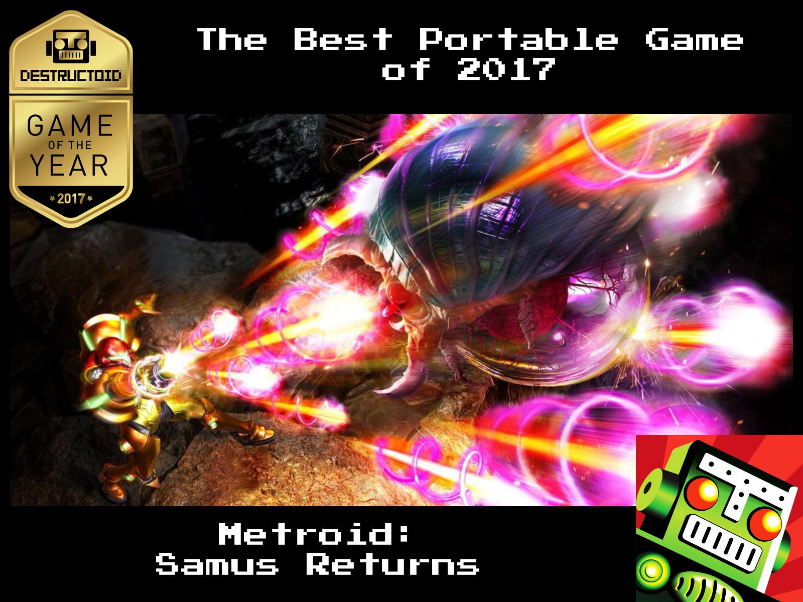 Portable Goty Noscale Destructoids Award  Game