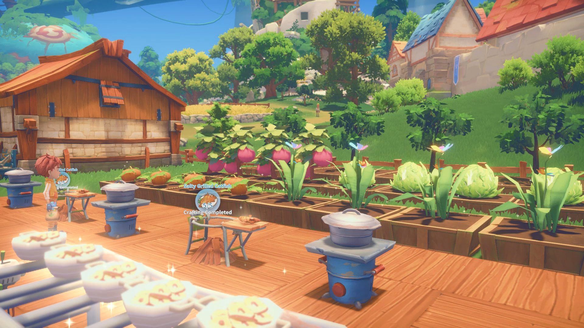 Charming town life sim My Time at Portia lands on Steam ...