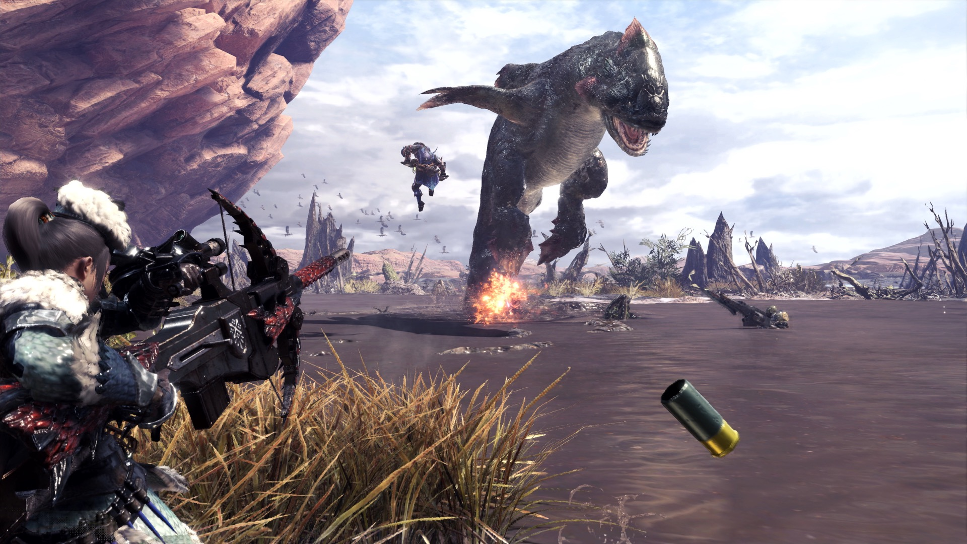 Xbox One Users Have Been Forced to Brave Monster Hunter World Solo
