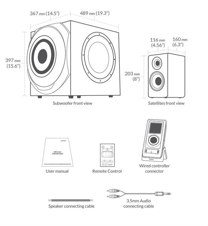 review  edifier s730 2 1 speaker system