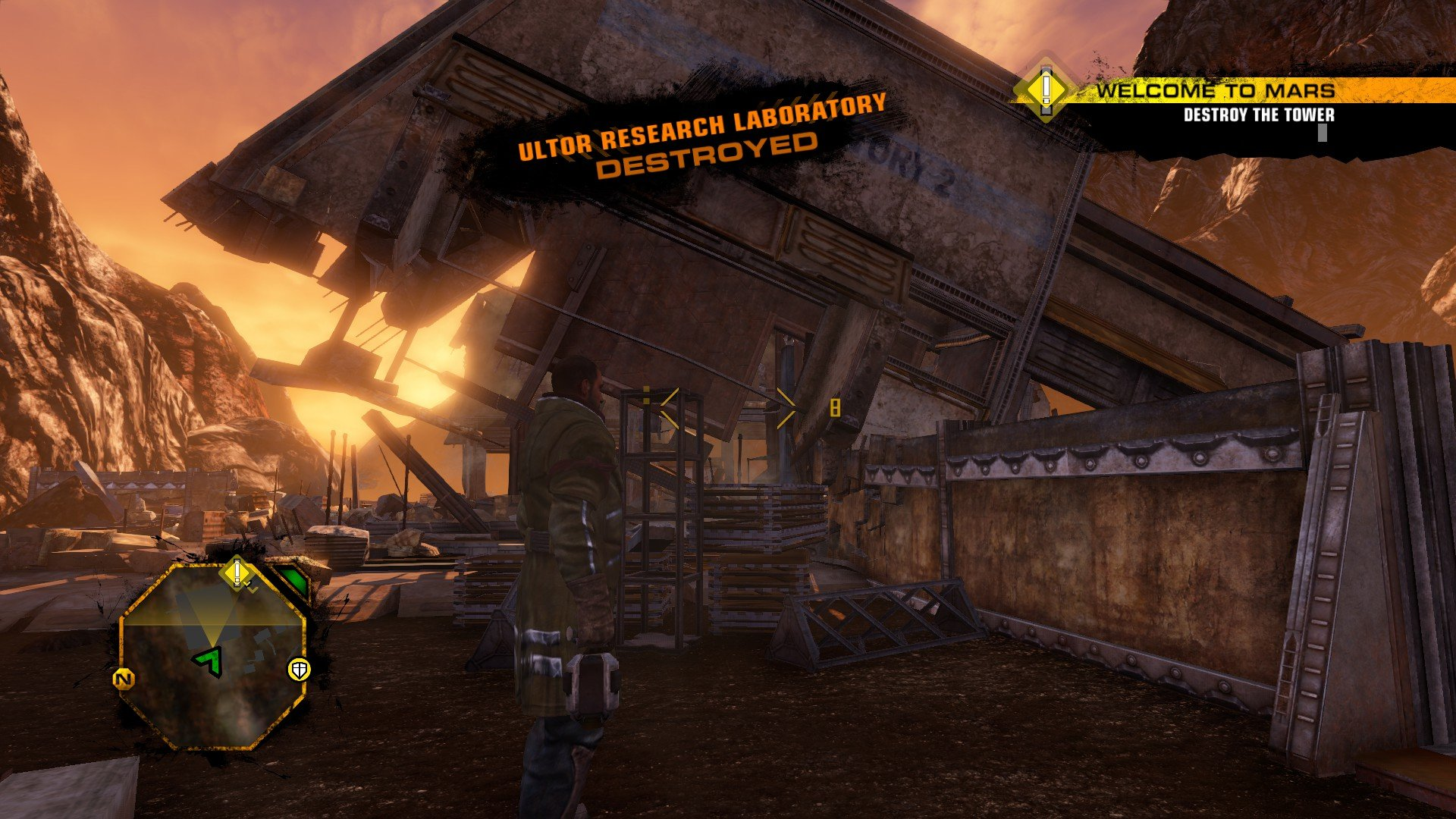 Red Faction Guerrilla Re-Mars-tered is perfectly fine on PC
