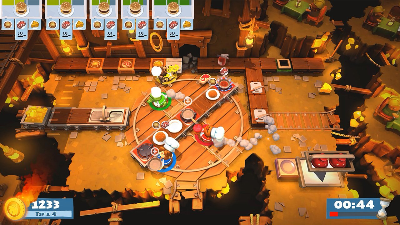 Here's how to unlock all of Overcooked 2's secret levels