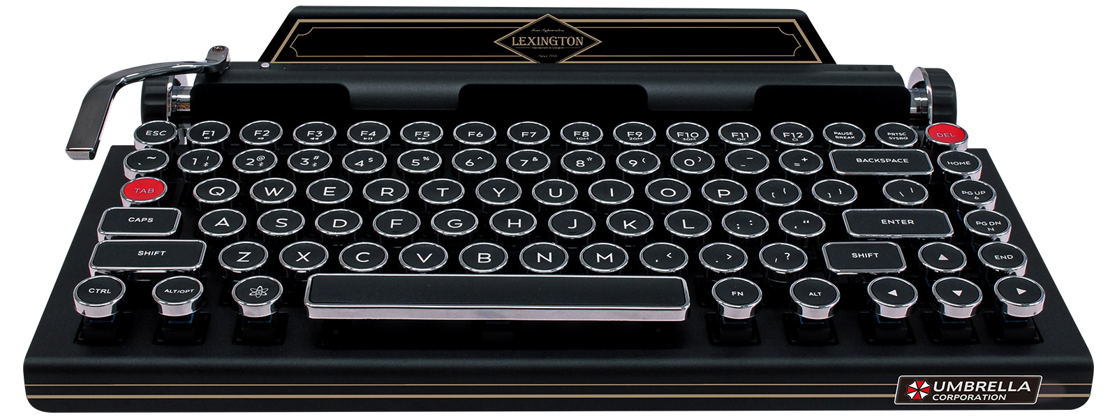 Capcom's typewriter-style keyboard for Resident Evil 2