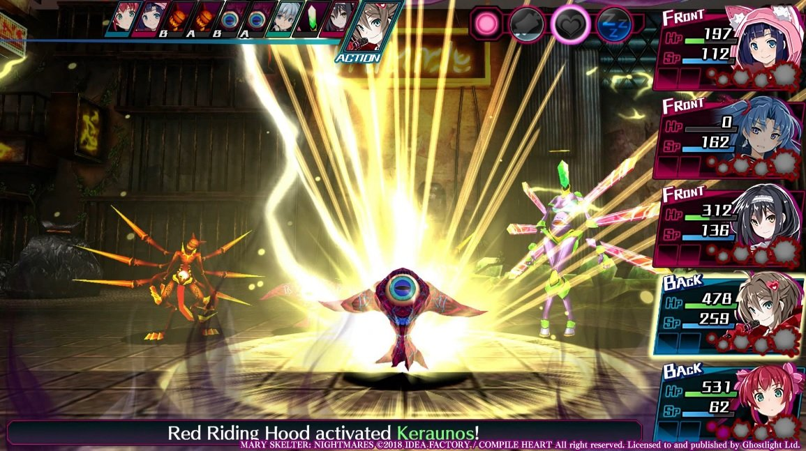 Mary Skelter: Nightmares review
