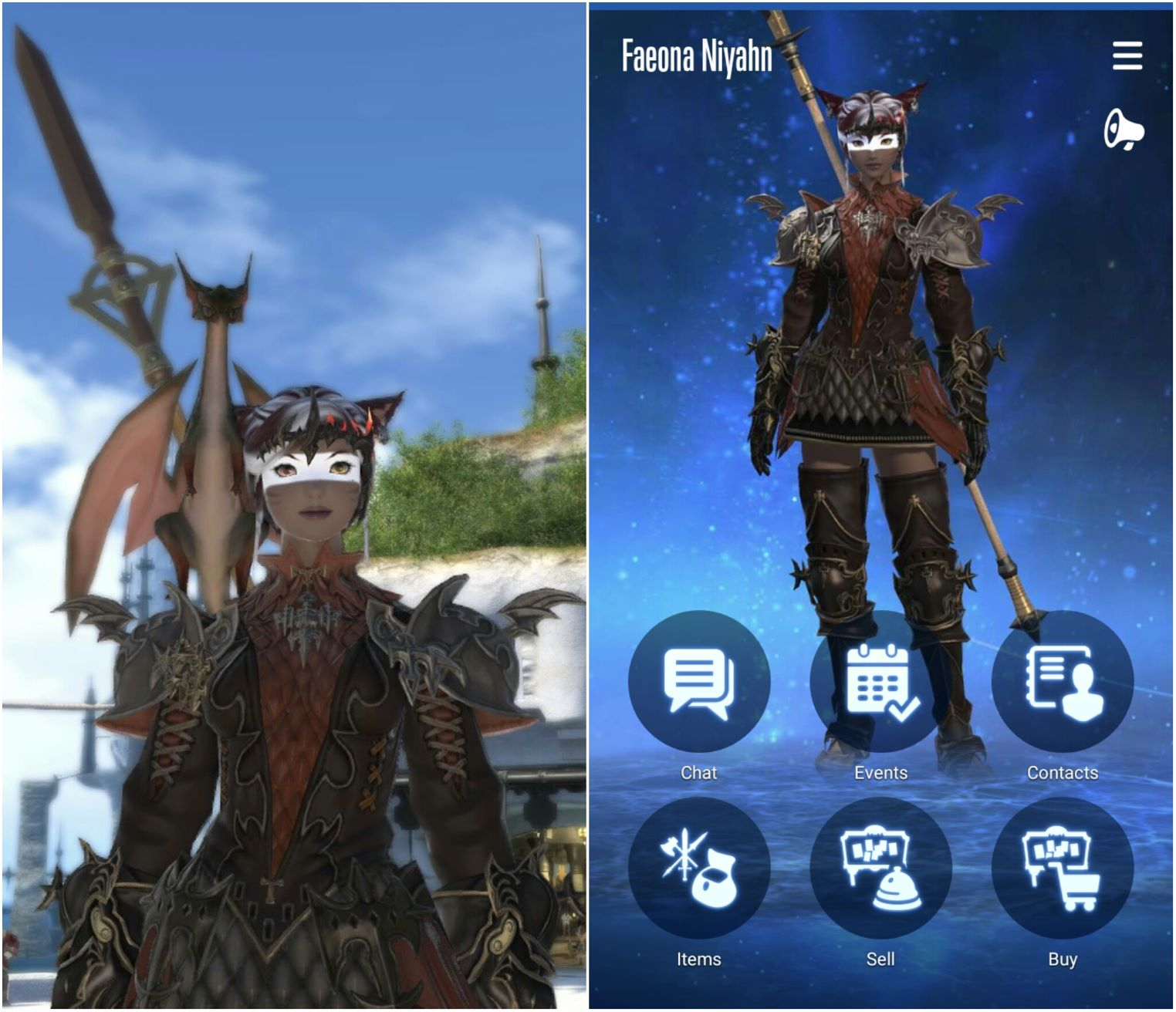 The Final Fantasy XIV Companion app needs a lot of work