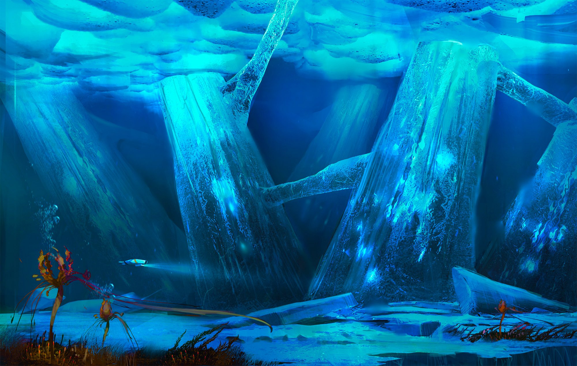 Concept art for Below Zero