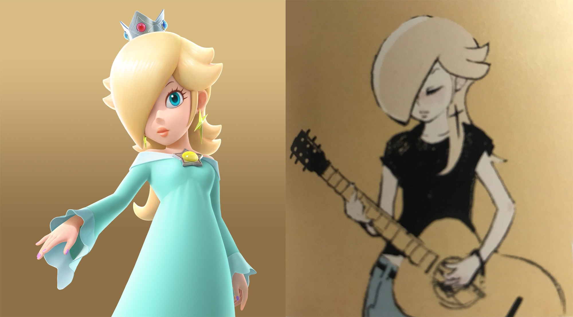Side by side Rosalinas