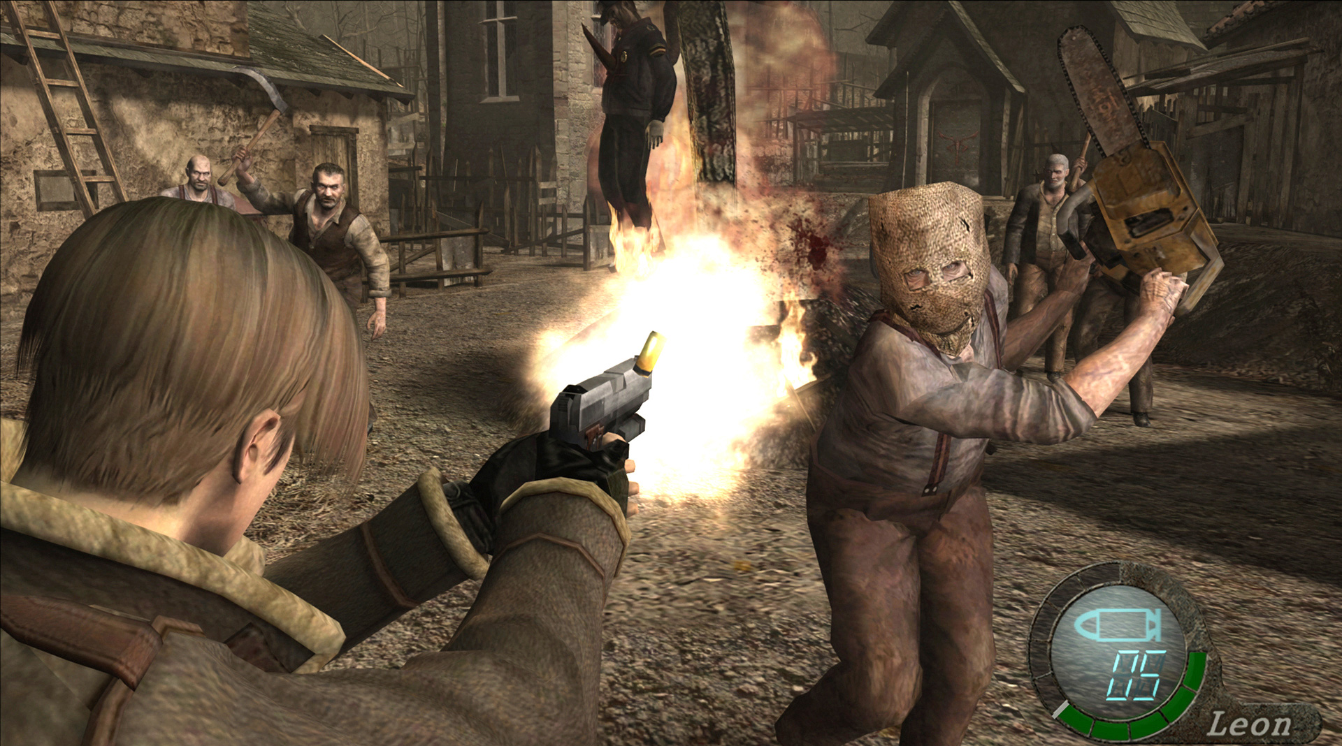 Resident Evil 4's village is a defining moment