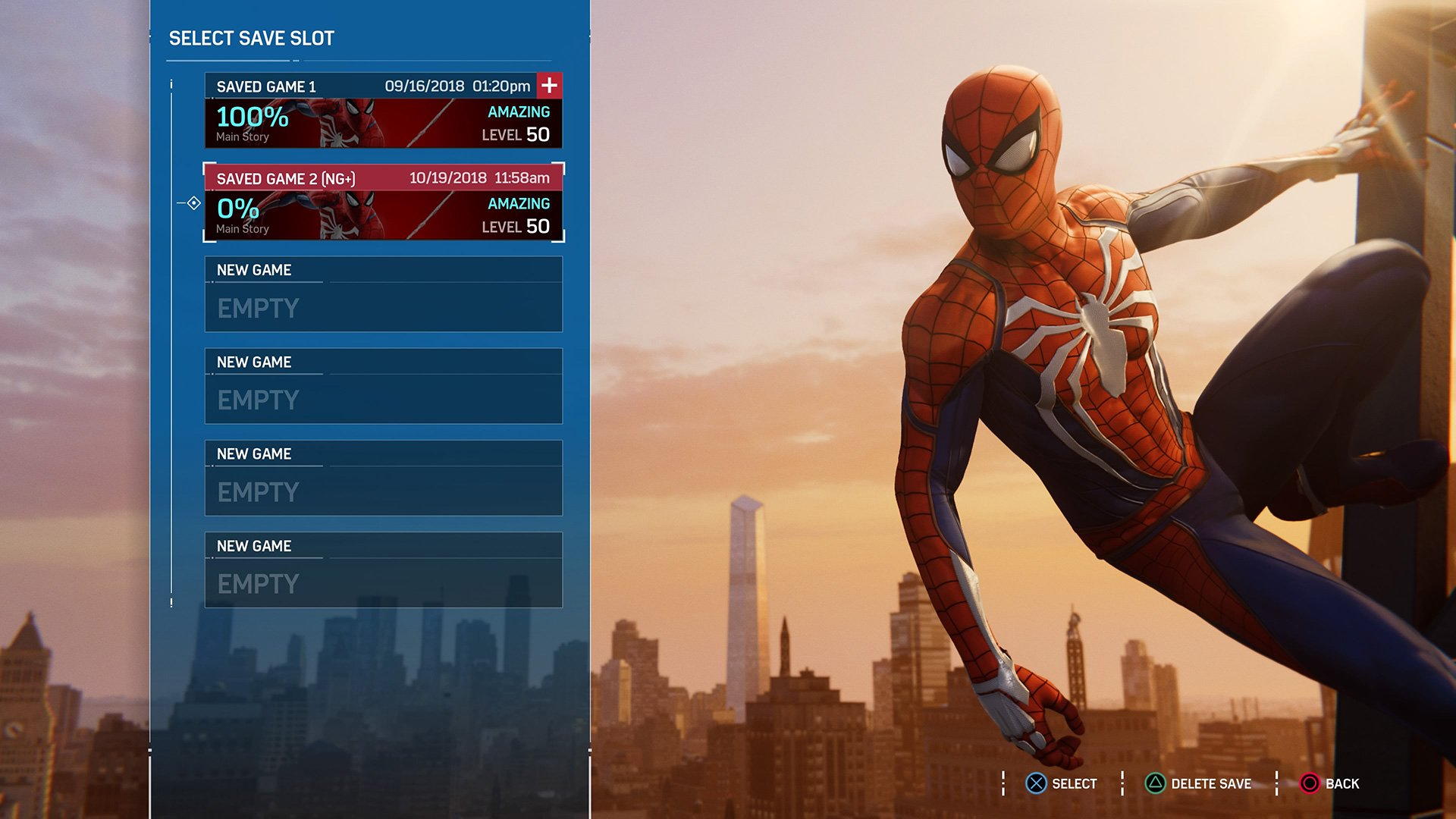 Spider-Man PS4 - After You Finished In New Game Plus Mode ...