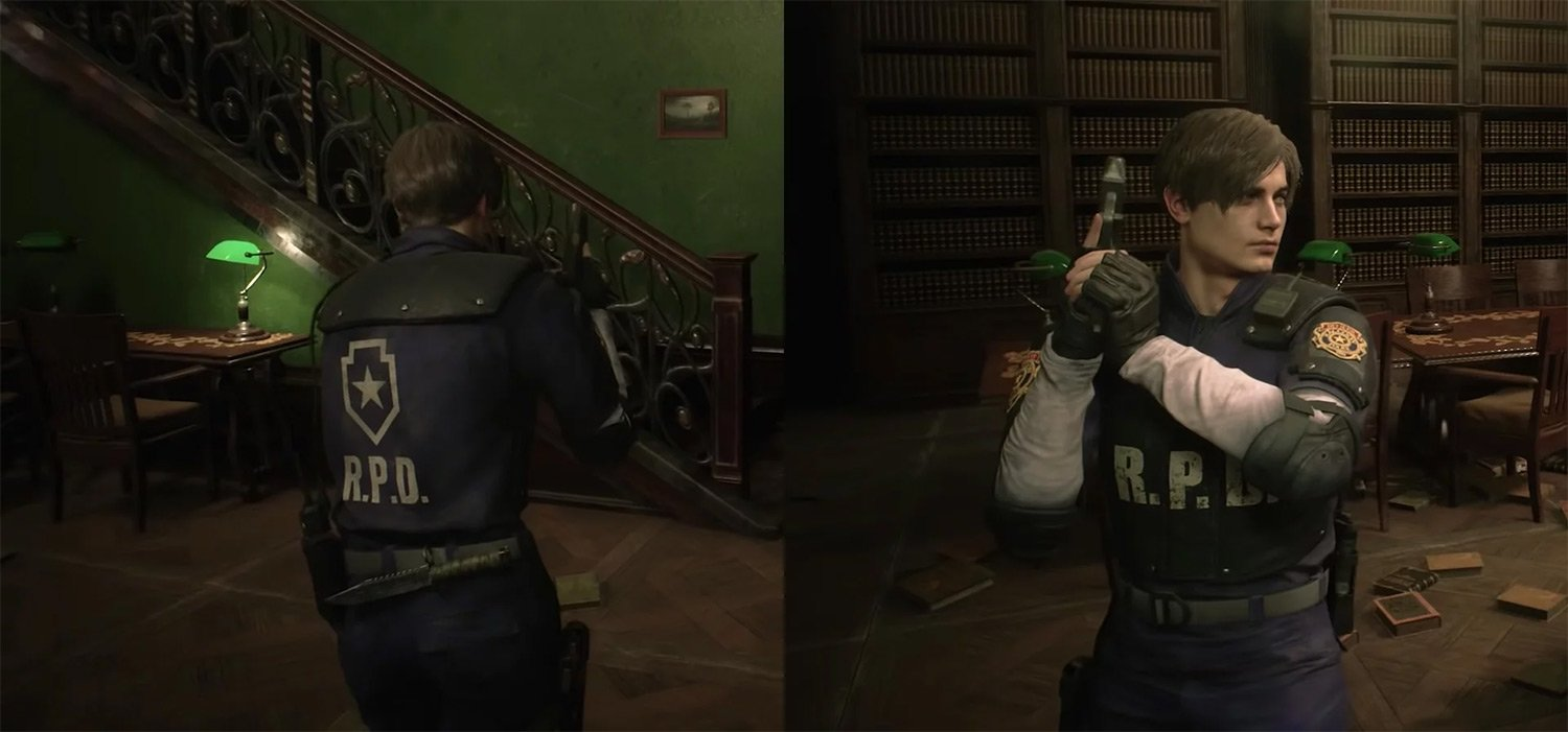 Capcom shows off unlockable Resident Evil 2 classic costumes