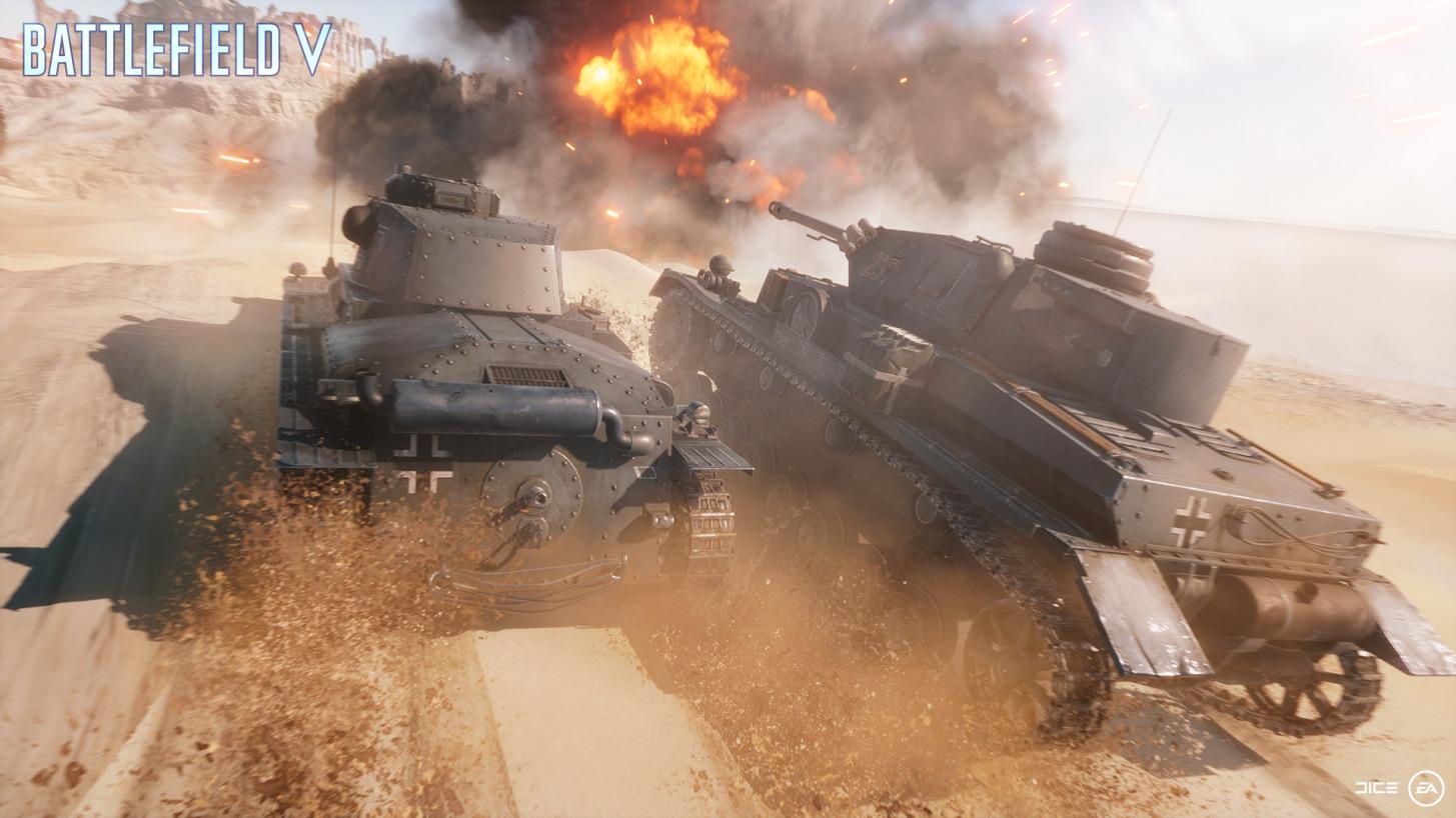 Tank warfare in Hamada