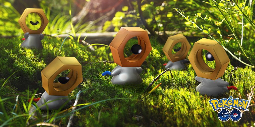 Shiny Meltan in Pokemon Go and Let's Go