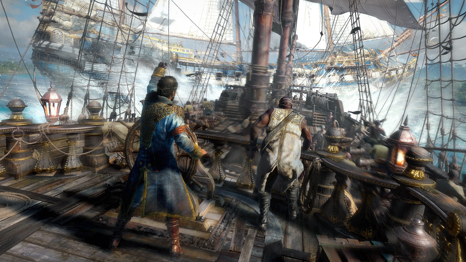 Skull and Bones resurfaces in announcement of a TV adaptation screenshot