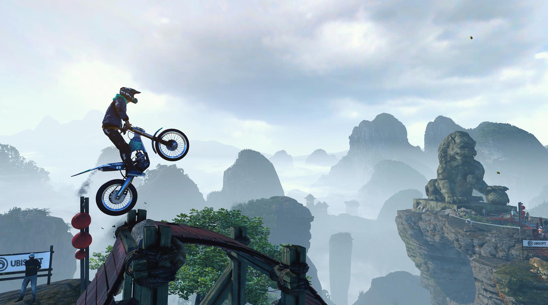 Nintendo Download: Trials Rising screenshot