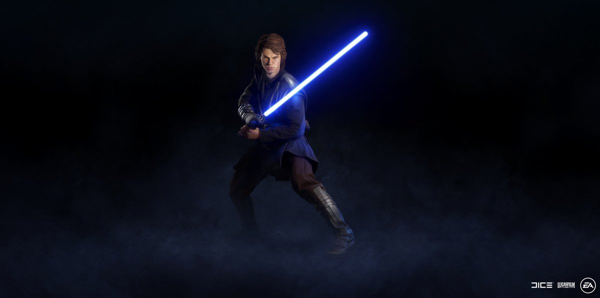 Anakin will be one of the strongest heroes in Star Wars Battlefront II screenshot