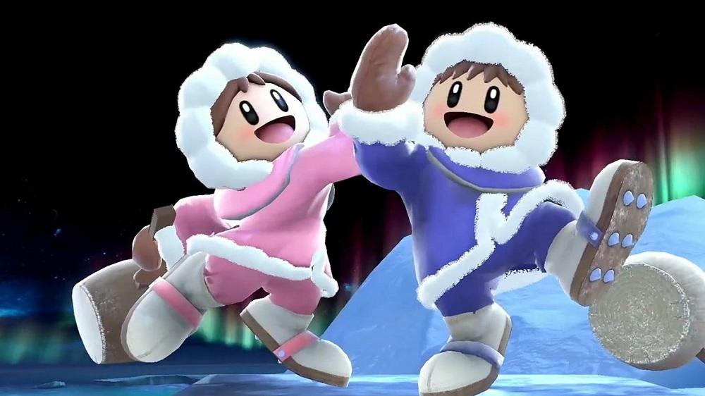 Revisit the origins of Super Smash Bros' Ice Climbers on Nintendo Switch screenshot