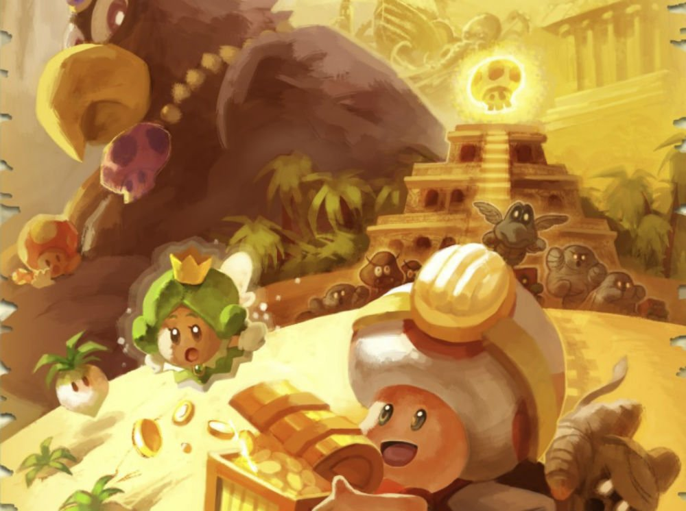 This Captain Toad concept art is (chef kissy fingers emoji) screenshot
