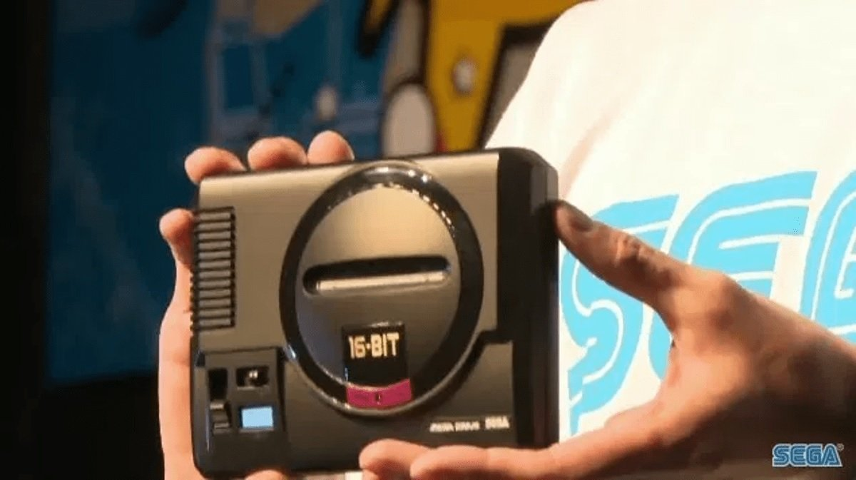 Sega Japan is asking fans which games they want on the Mega Drive mini