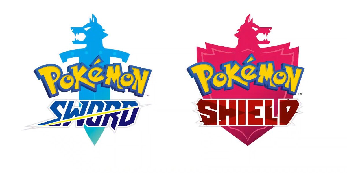 Pokemon Sword and Shield logos