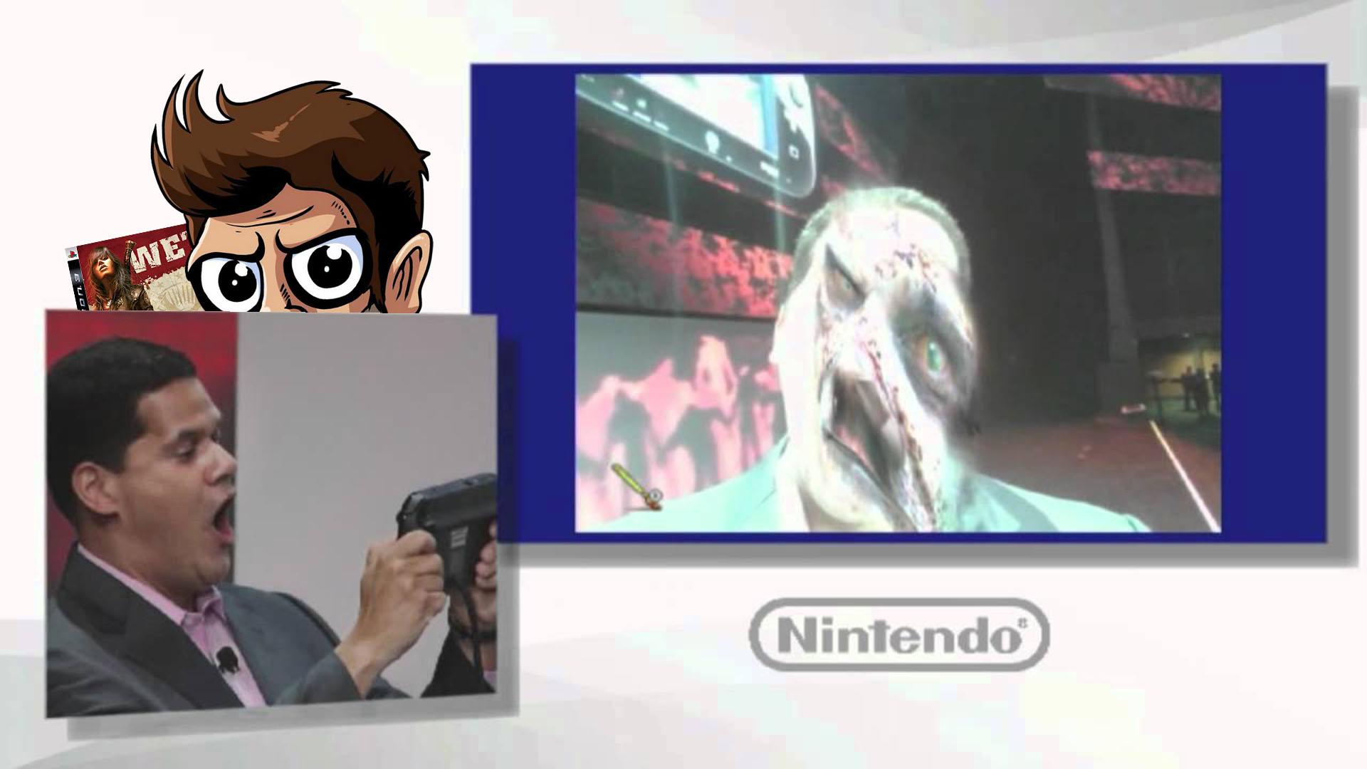 In this episode of Pregame Discharge, lots of Resident Evil is coming to Switch & Reggie is retiring! screenshot