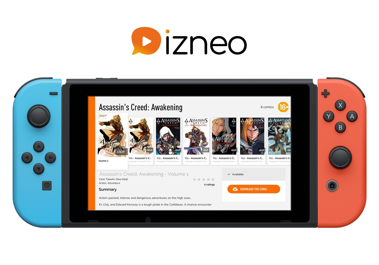 Contest: Win an Izneo Premium subscription for your Switch screenshot
