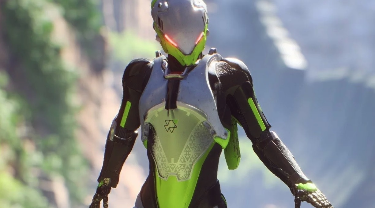 This Anthem video shows off the insane potential for big high-flying plays screenshot