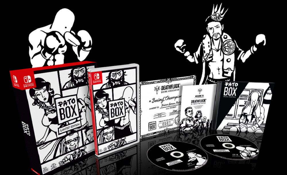 Pato Box gets a physical release on PS Vita and Nintendo Switch screenshot