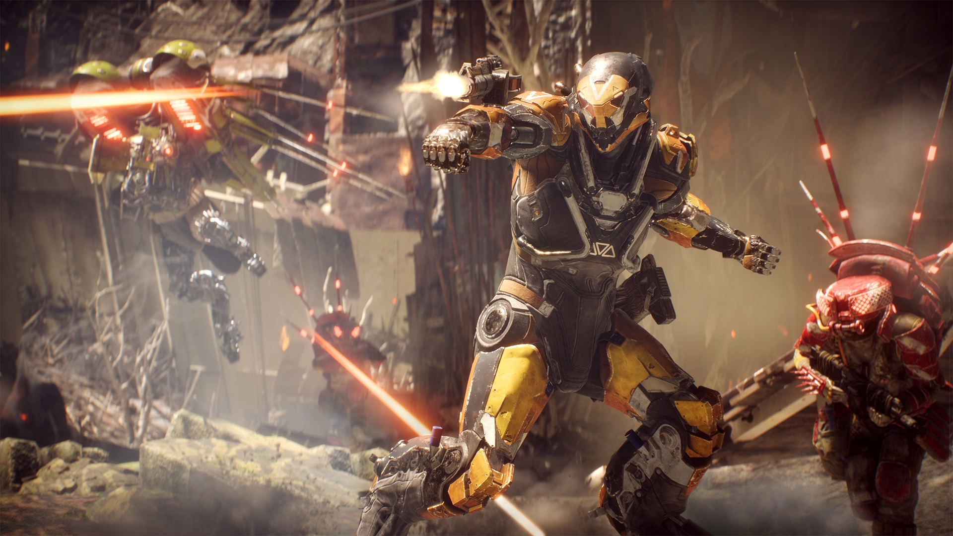 EA is investigating why Anthem is crashing PS4s screenshot