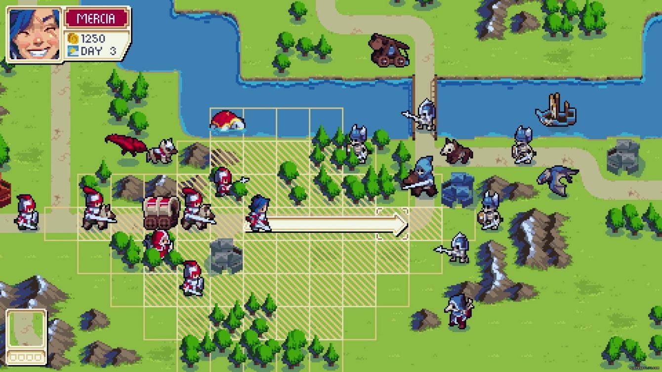 Tactical RPG Wargroove just got a massive quality of life patch screenshot